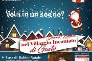 DAL 3 NOVEMBRE AL 12 GENNAIO 2019 BABBO NATALE NEL VILLAGGIO INCANTATO A GAETA