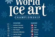 World Ice Art Championship 2020 a Gaeta dal 10 al 12 Gennaio 2020