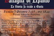 6 OTTOBRE 2019  - 448°Anniversario della Battaglia di Lepanto - La Storia fa scalo a Gaeta