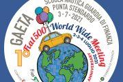 """Arriva a Gaeta il Primo Fiat 500 World Wide Meeting, il raduno mondiale """"diffuso"""" che celebra il simbolo italiano su quattro ruote."""