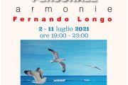 """""""Armonie"""", Alla Batteria """"La Favorita"""" La Personale D'arte Di Fernando Longo"""