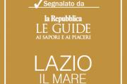"""B&B a casa di Lidia è stato segnalato nella Guida """"Lazio- Il Mare"""""""